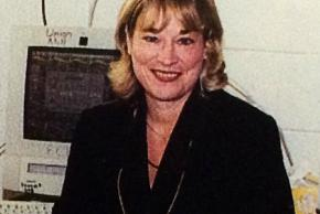 Color photograph of Molly Kingma, principal of Union Mill from 2002 to 2006.